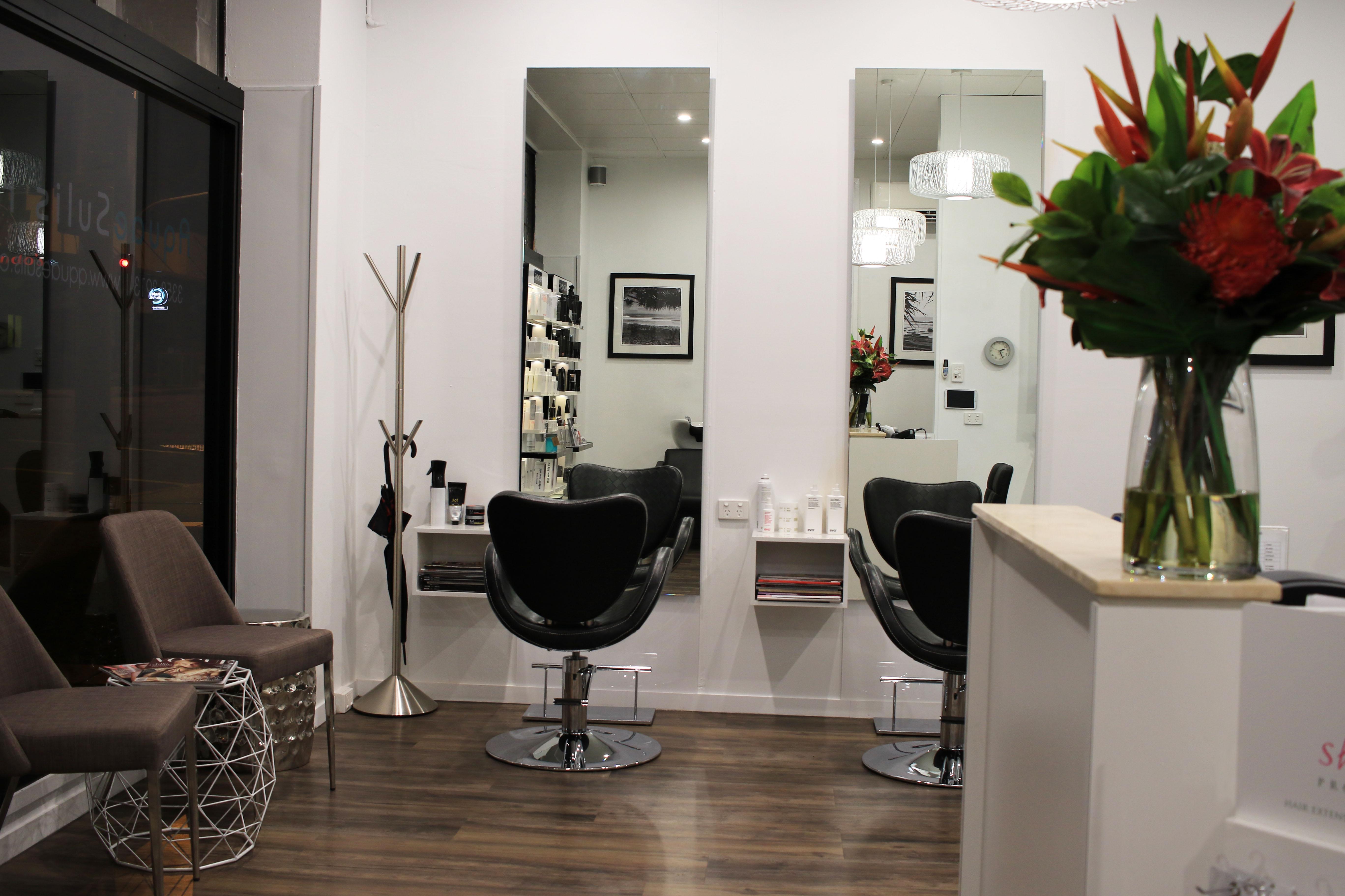 inside hair salon
