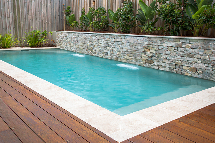 Dynamic pool designs swimming pool builders award for Timber decking around pools