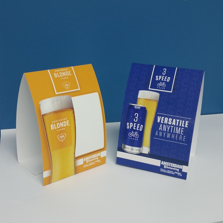 Table Top Cards | Retail Tent Cards | Graphics Production Group