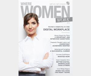 Where Women Work magazine 2016