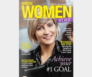 Where Women Work magazine 2013