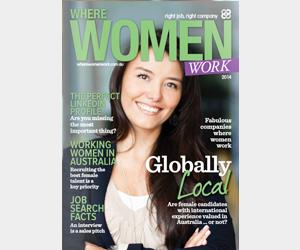 Where Women Work magazine 2014