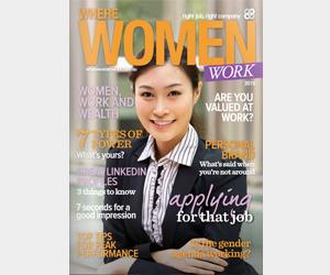 Where Women Work magazine 2015