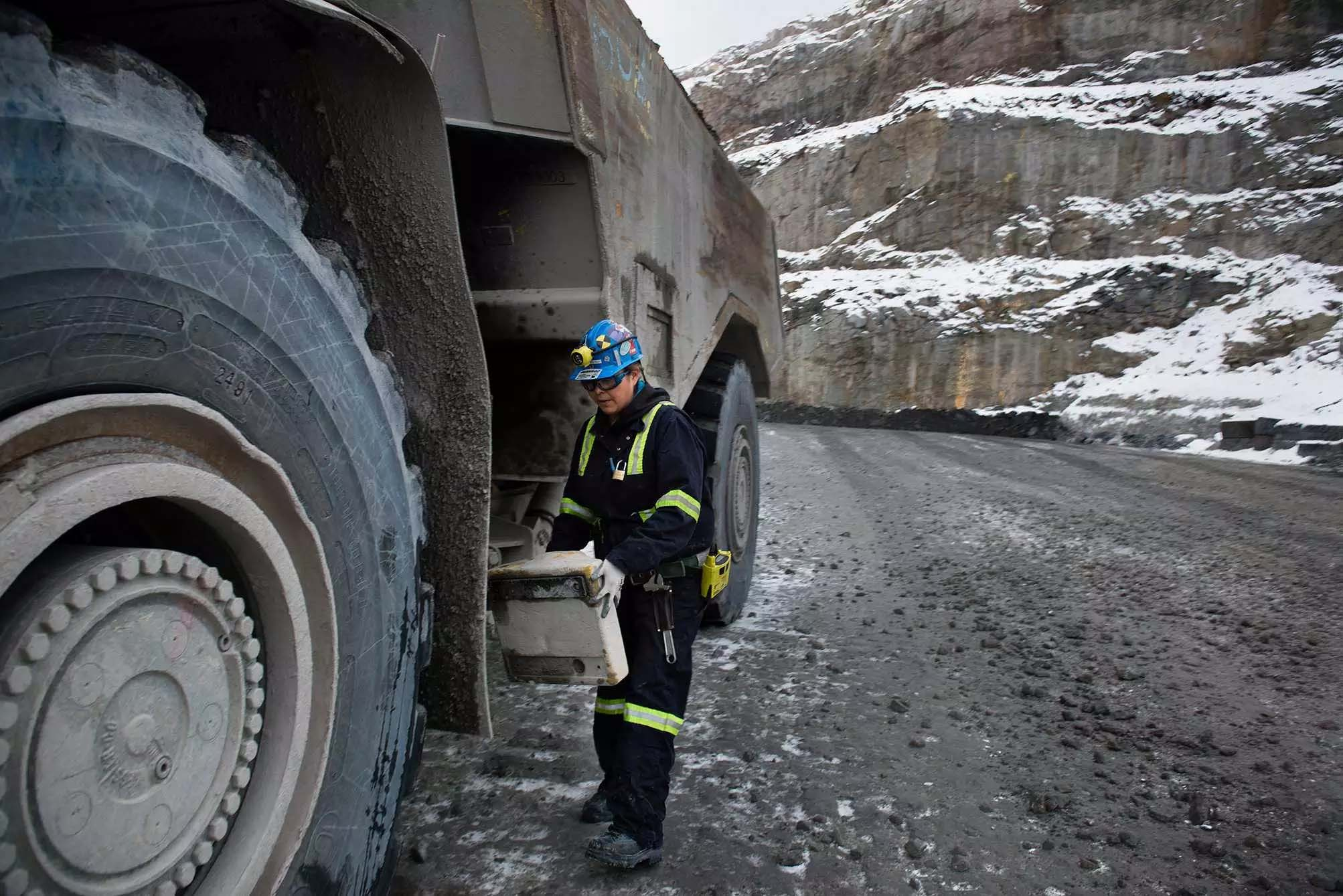 Many women thrive on challenging careers in the Canadian diamond mines of Rio Tinto and further companies
