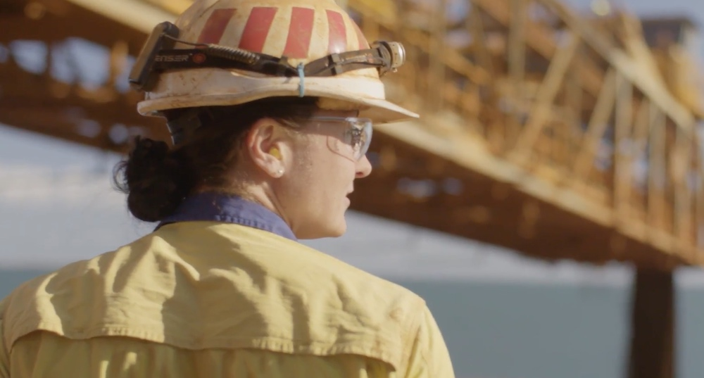 Women using cutting edge technology for results at Rio Tinto