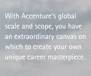 Why women should take their experience to Accenture