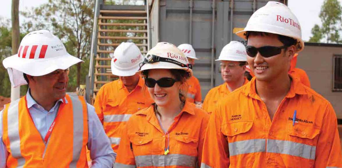 Changing the landscape: Diversity in the mining sector