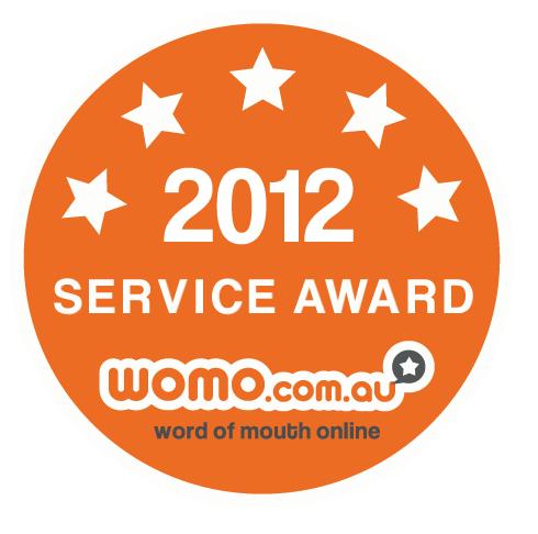 2012 Service Award