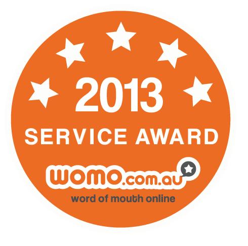 2013 Service Award