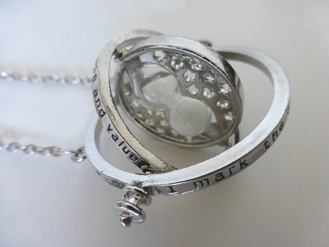 A time turner necklace
