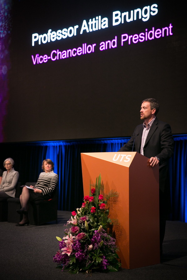 Vice-Chancellor speaks at the Showcase