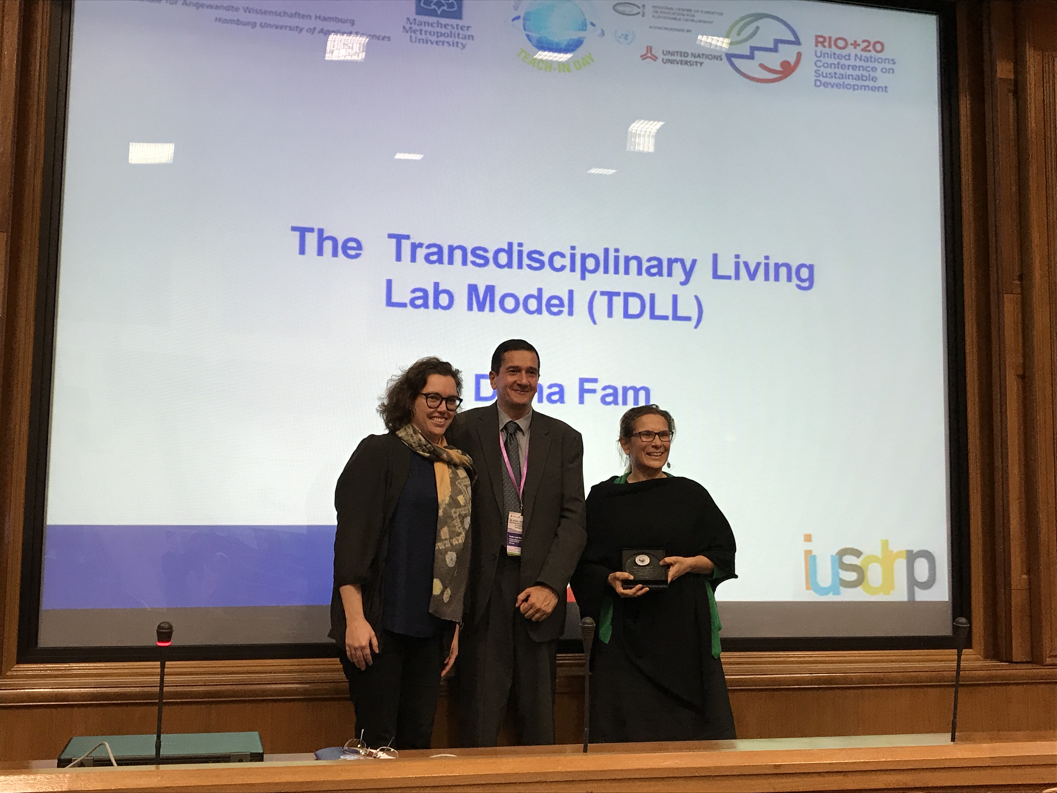 Award-winning collaboration the Transdisciplinary Living Lab model teaches students about sustainability