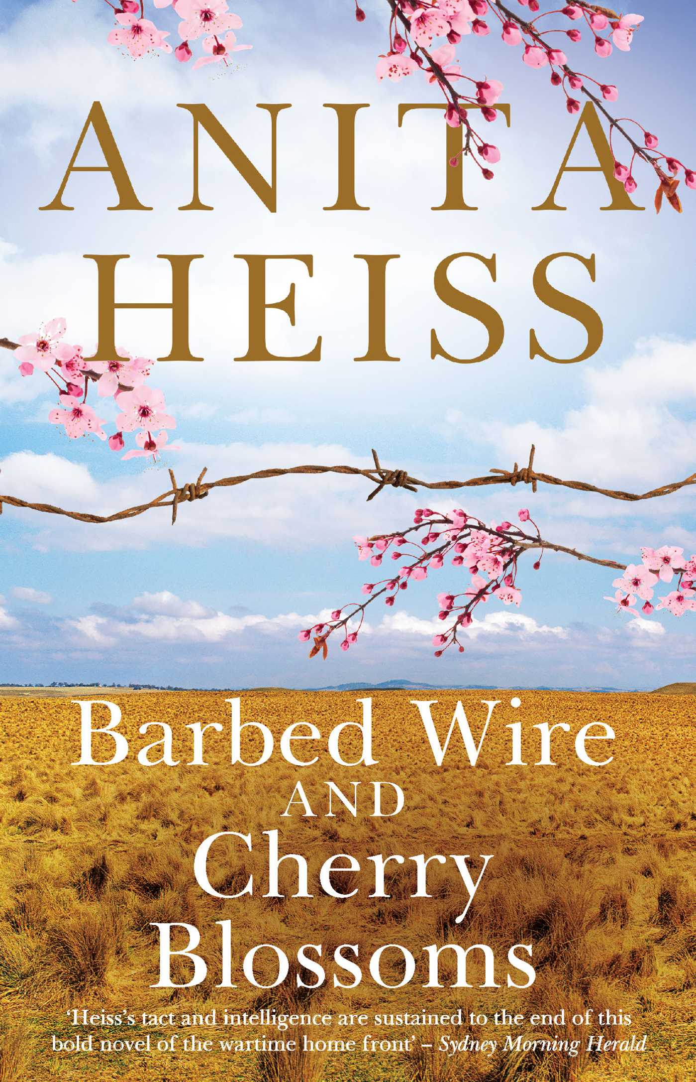 Cover of 'Barbed Wire and Cherry Blossoms' by Anita Heiss