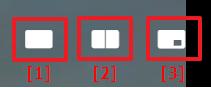Screenshot of viewing modes