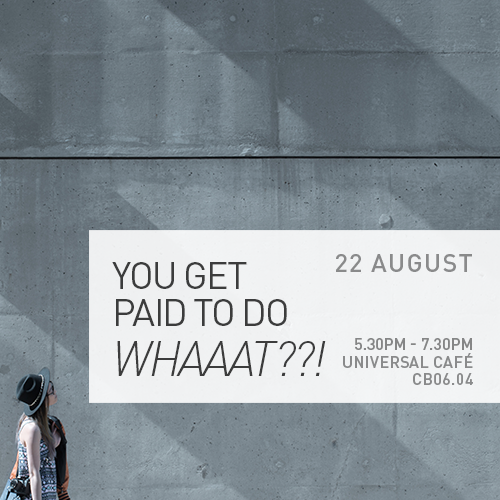 You Get Paid to do WHAAAT?!!