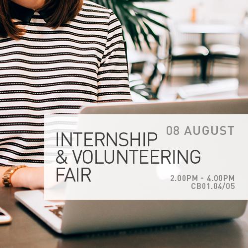 Internship & Volunteering Fair
