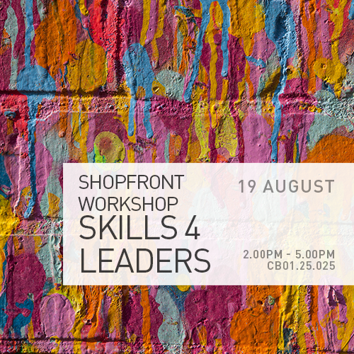 Shopfront Workshop Skills 4 Leaders