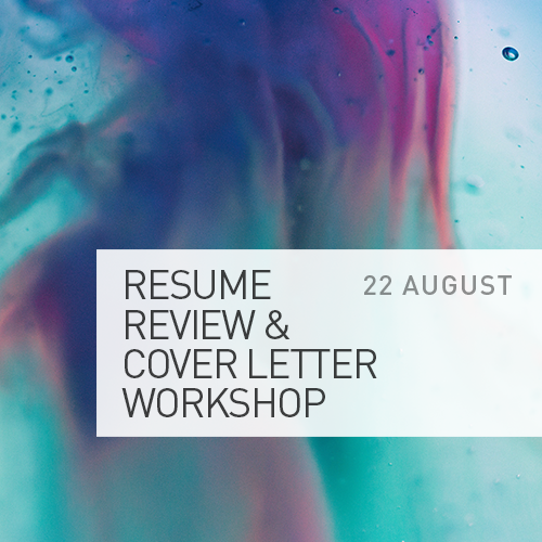 Resume Review Cover Letter Workshop Uts Festival Of Future You