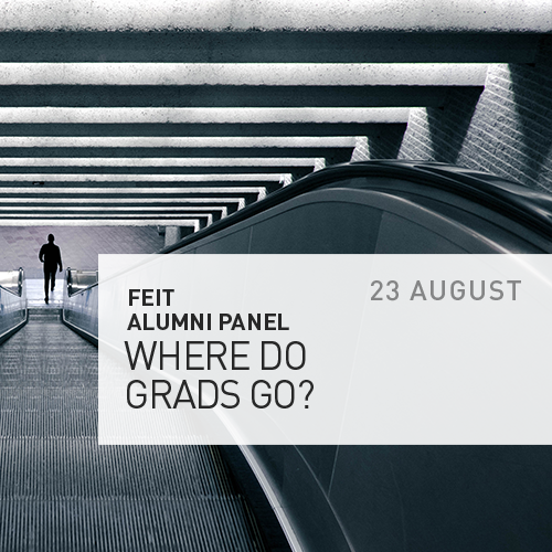 Where do Grads Go? – Alumni Panel