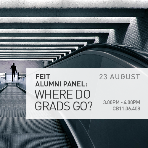 FEIT Event – 'Where Grads Go' Alumni Panel