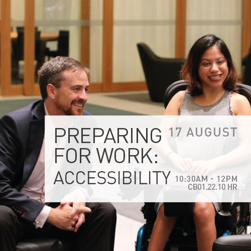 Preparing for Work: Accessibility