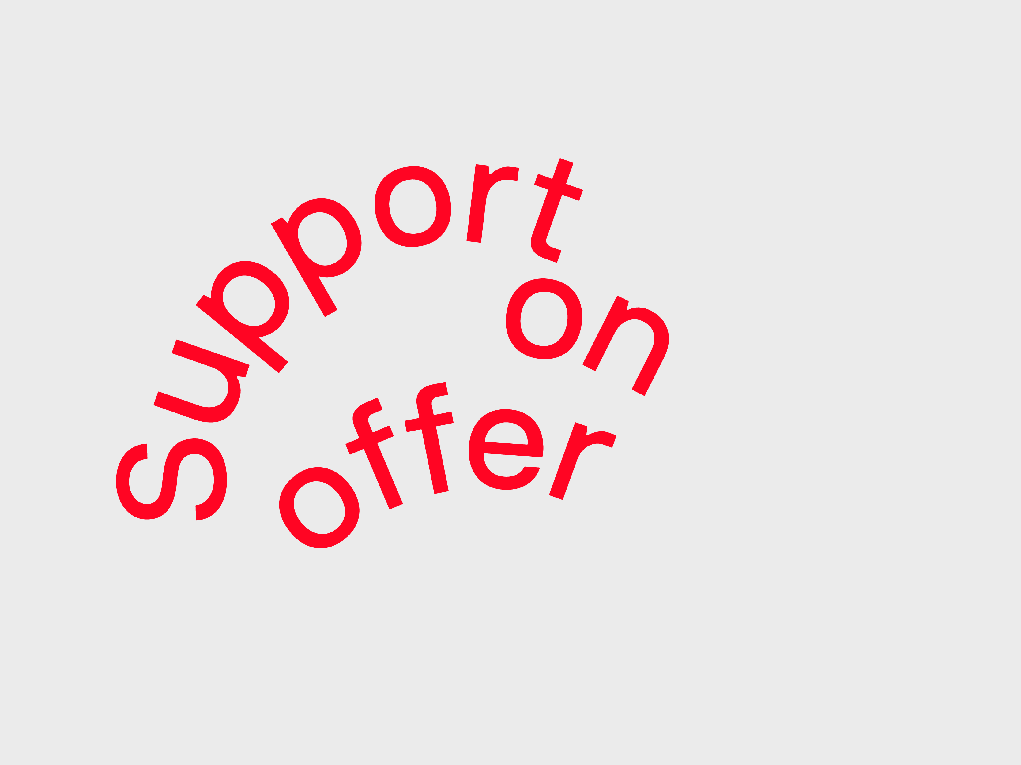 Support on offer