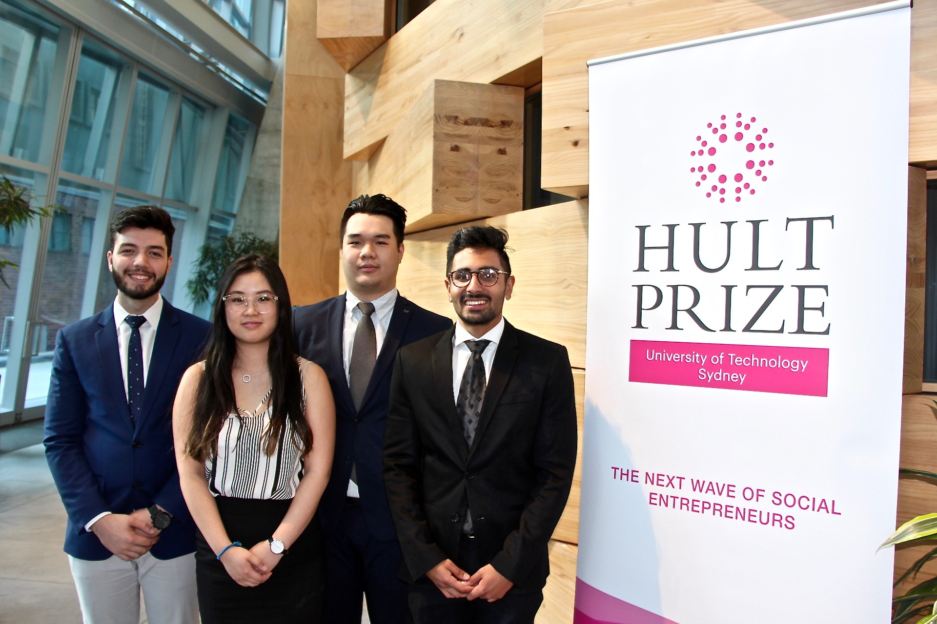 Hatchlings take on Hult Prize for chance to win $USD1m in funding