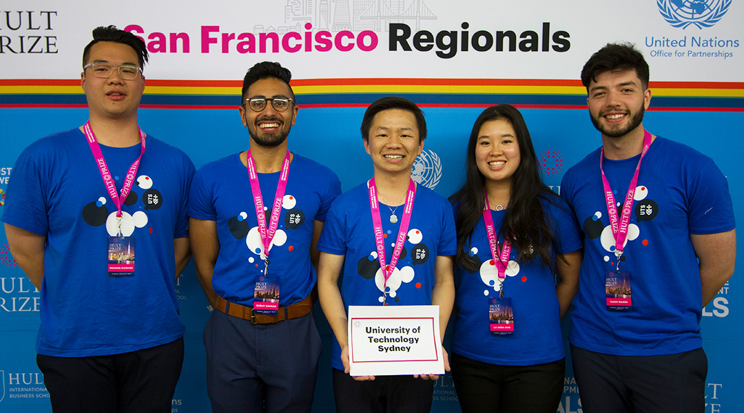 Hatchlings hit San Francisco for Hult Prize regional final