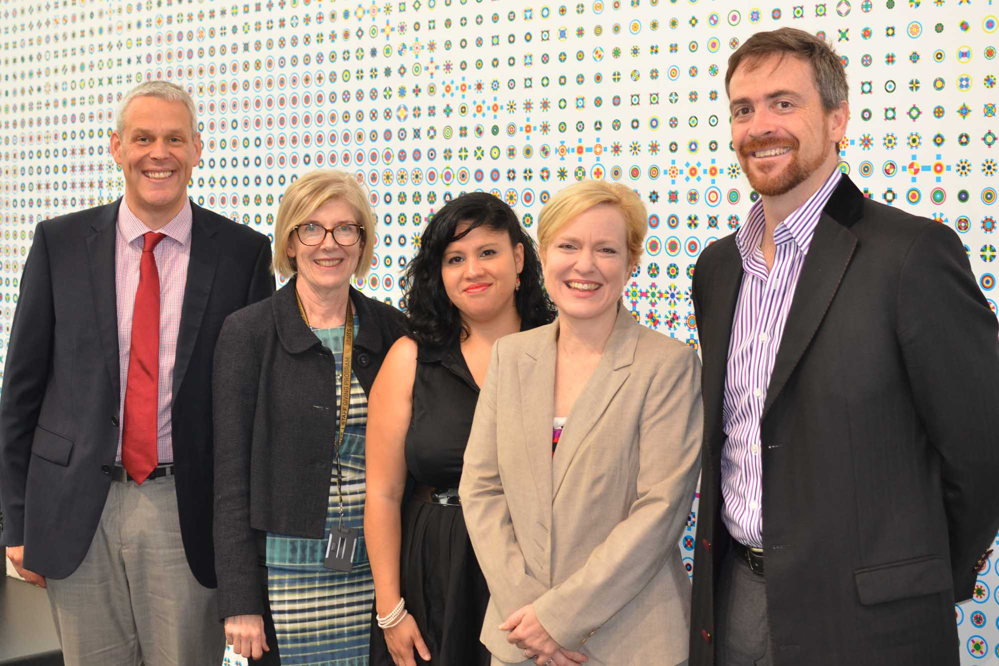 The UTS executive team at the Athena SWAN Pilot launch