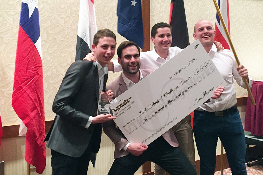 UTS team wins Virginia Tech Challenge