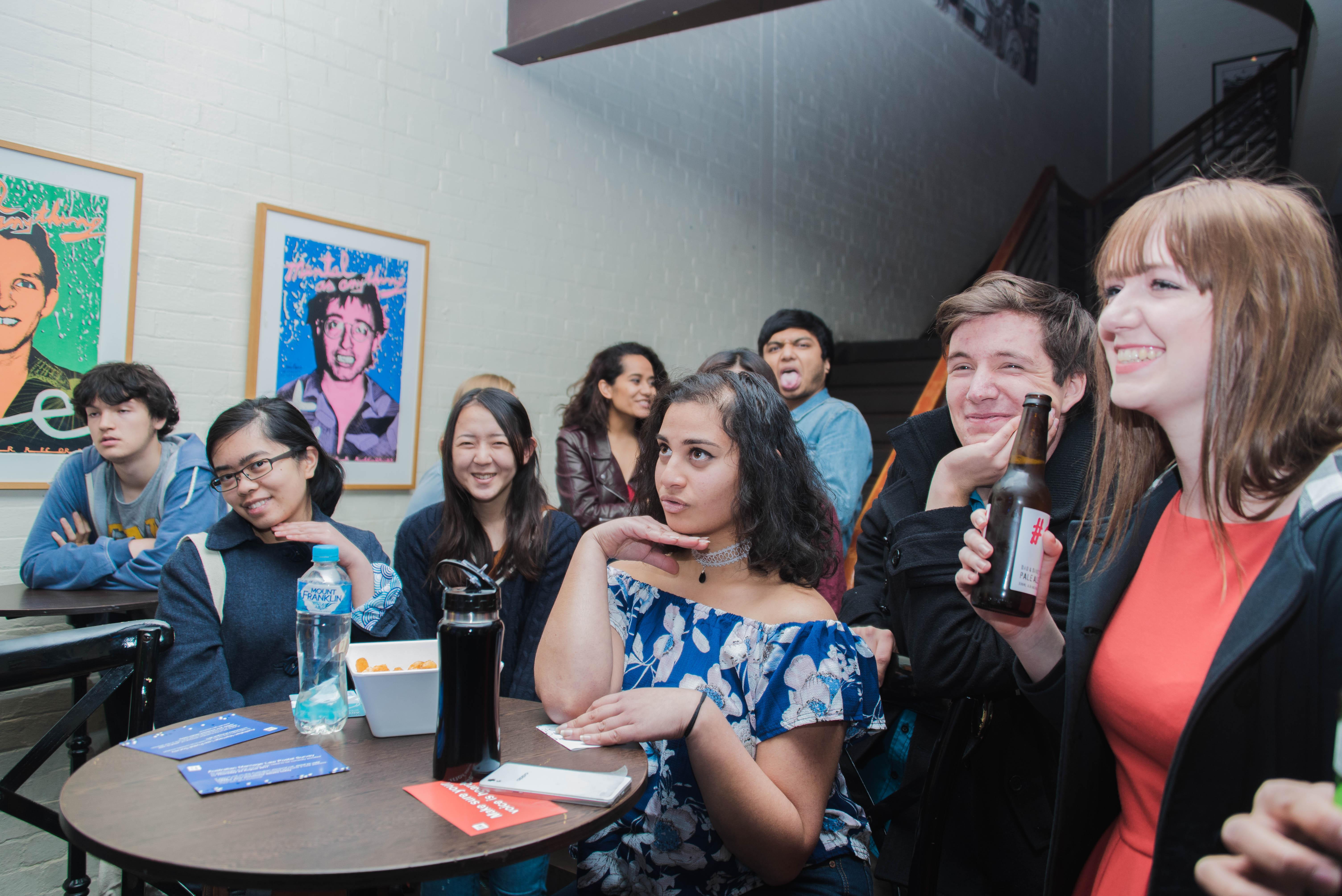 Diversity Week wrap party at The Loft