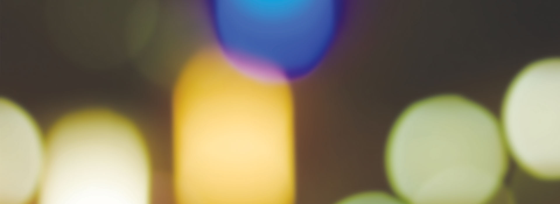 Colourful, blurred out blobs.