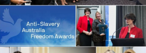 Anti-slavery Australia freedom awards