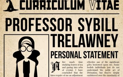 Fact or Fiction: Your Favourite Fictional Characters on How to Write a CV in the Real World