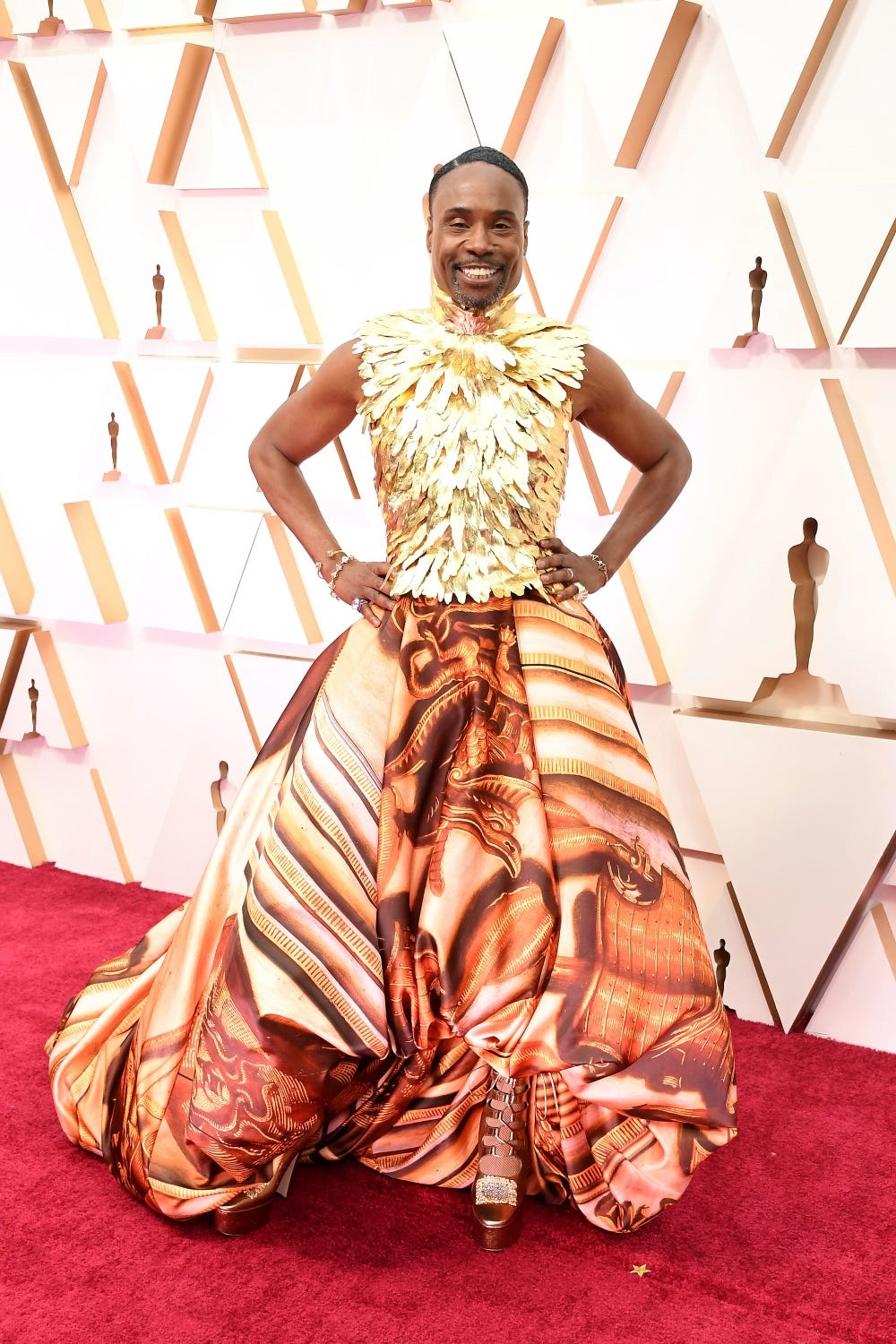 Billy Porter at the 2020 Oscars