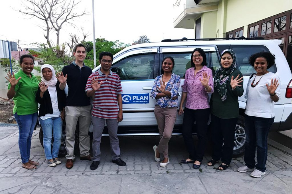Plan Indonesia and ISF project team