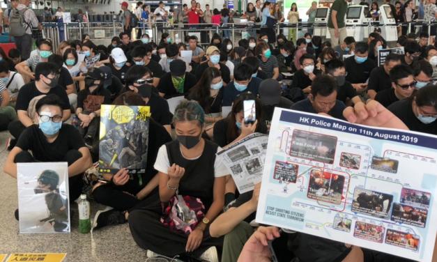 Hong Kong: chaos returns to airport