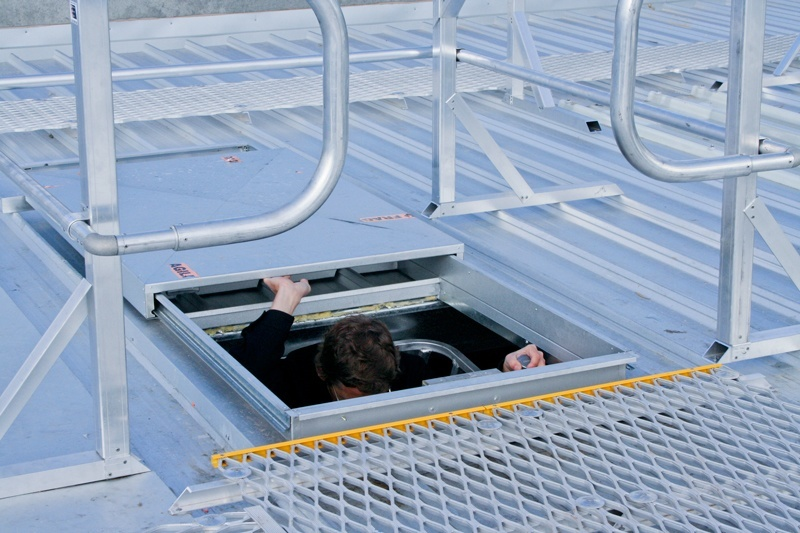 Roof Access Hatches Safe Roof Access Sliding Hatches