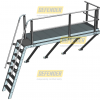 Defender™ Midway Landing with Defender™ Step-Type Ladder