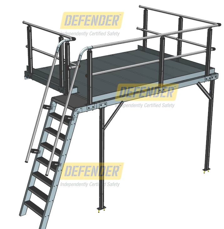 Platforms Height Safety External Roof Platforms Work