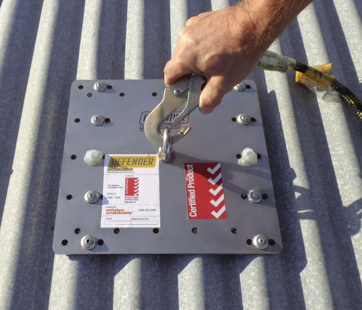 As Nzs 5532 For Height Safety Roof Anchors