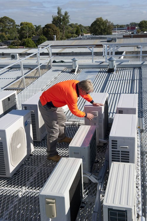 Hvac Access For Safe Egress For Maintenance Staff