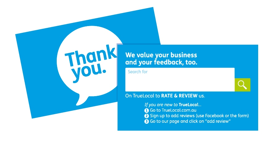 How to ask clients for feedback true local blog thankyoucards ratereviewstickers ask for reviewsbusinesshow reheart Choice Image