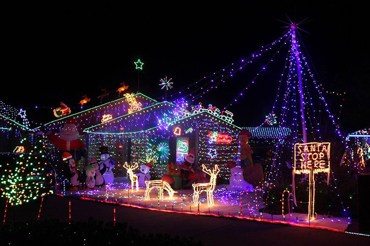 Picture credit: Hugo Court Christmas Lights