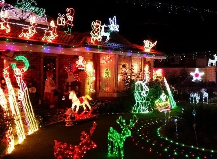 Picture credit: Palmerston Crescent Christmas Lights