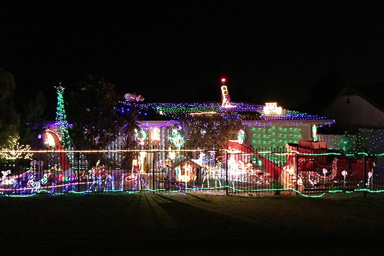 Image credit: The Wright's Christmas Lights