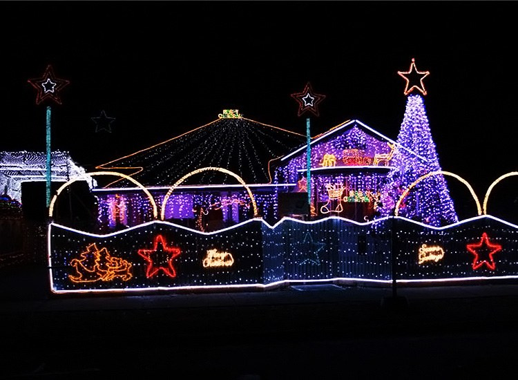 Gordon Grove may sound like the alter ego of some 1960s superhero but itu0027s actually the final stop on our little tour of Melbourneu0027s Christmas light shows. & Magical Christmas lights in Melbourne | True Local Blog azcodes.com