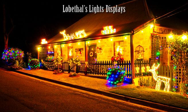 Picture credit: Lobethal's Light Displays