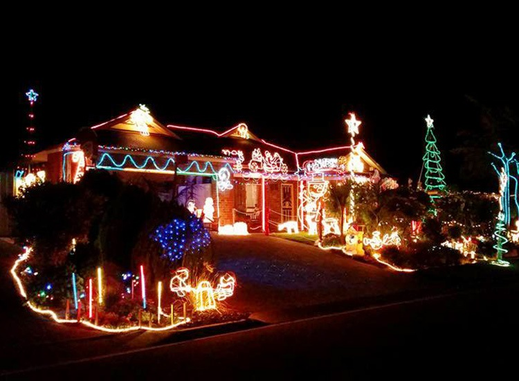 Picture Credit: Simone Crescent/Buttercup Grove Christmas Lights