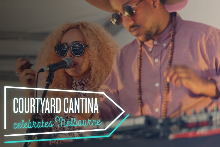 Get your multicultural fix at Courtyard Cantina in Melbourne